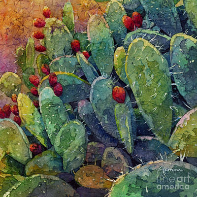 Animal Watercolors Juan Bosco - Desert Gems 2-Square Format by Hailey E Herrera