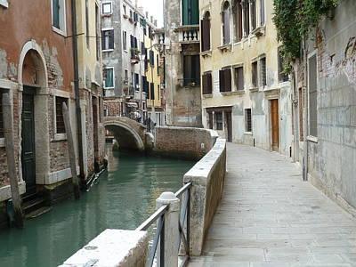 Photograph - Deserted street in Venice by Jo Johnson