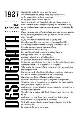 Mixed Media Royalty Free Images - Desiderata - Max Ehrmann - Typographic Print - Literary Poster 11 Royalty-Free Image by Studio Grafiikka