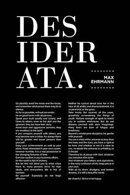 Mixed Media Royalty Free Images - Desiderata Print - Max Ehrmann - Typography - Literary Poster 19 Royalty-Free Image by Studio Grafiikka