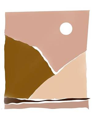 Priska Wettstein Land Shapes Series - Dessert heat. by Luisa Millicent