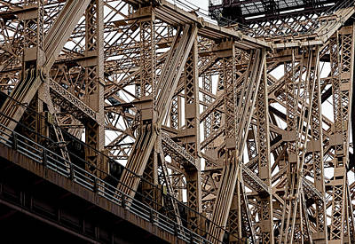 Parks - Detail of the 59th Street Bridge by Robert Ullmann