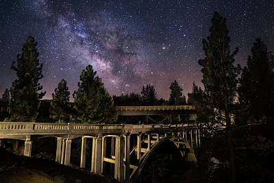 Royalty-Free and Rights-Managed Images - Devils Corral Nightscape by Mike Lee