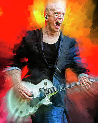 Kitchen Food And Drink Signs - Devin Townsend by Mal Bray