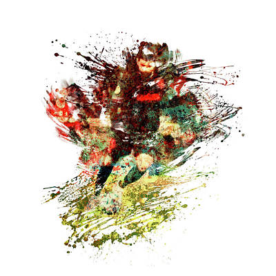 Sports Royalty-Free and Rights-Managed Images - Diego Costa footballer by All Sport Art