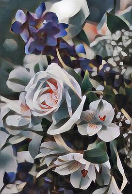 Truck Art - Digital Bouquet by Perry Correll