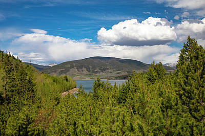 David Bowie Royalty Free Images - Dillon Reservoir Colorado Royalty-Free Image by Dan Sproul