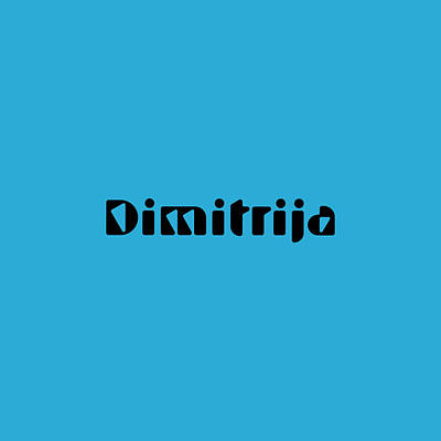 Royalty-Free and Rights-Managed Images - Dimitrija by TintoDesigns