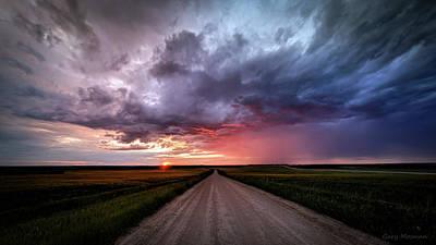 Anne Geddes - Dirt Road Sunset by Gary Mosman