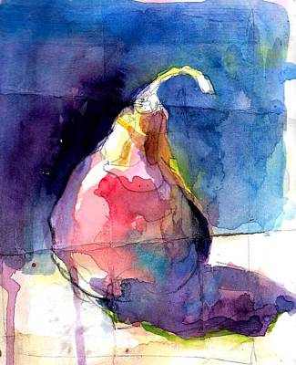 Painting - Distressed Pear by Jack Loeb