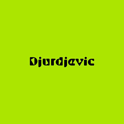 Royalty-Free and Rights-Managed Images - Djurdjevic by TintoDesigns