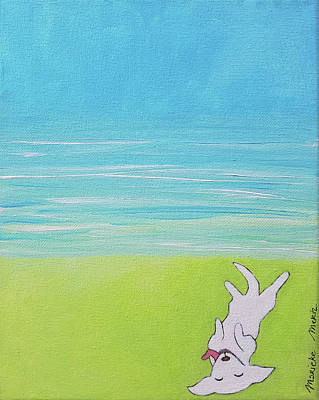 Painting - Dog Days by Marieke Mertz