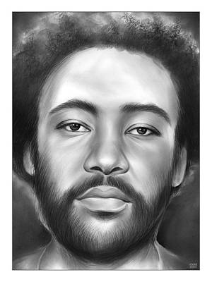 Drawings Royalty Free Images - Donald Glover - Pencil Royalty-Free Image by Greg Joens