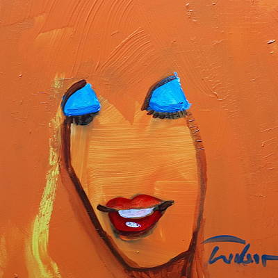 Painting - Donna by Ron Wilson