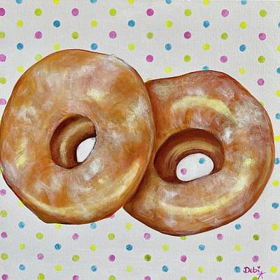 Amy Hamilton Animal Collage - Donuts by Debi Starr