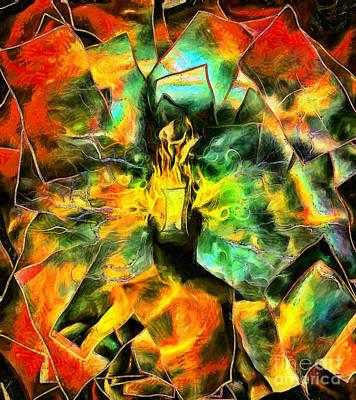 Surrealism Digital Art - Door to imagination by Bruce Rolff
