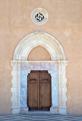 Mistletoe - Doors Of The World 128 by Karen Gibas