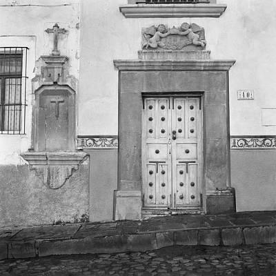 Unicorn Dust - Doorway with Cherubs, San Miguel de Allende Mexico, 2005 by Michael Chiabaudo