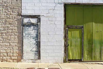 Photograph - Double Doors by Erich Grant