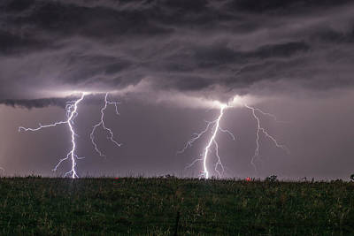 Photograph - Double Strike by Willard Sharp