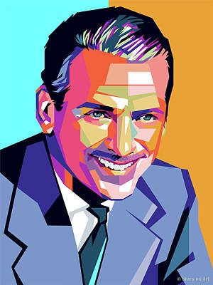Easter Egg Stories For Children - Douglas Fairbanks Jr. by Stars on Art