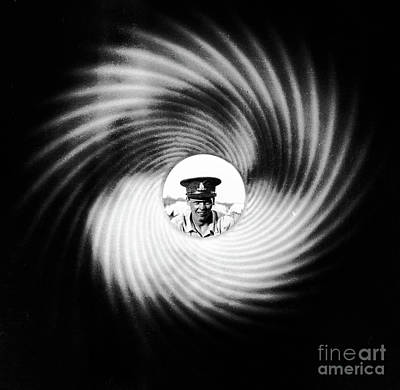 Studio Grafika Zodiac Rights Managed Images - Down the barrel Royalty-Free Image by Robert McAlpine