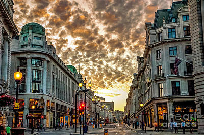 Albert Bierstadt - Downtown London 3 by Micah May