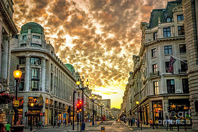 Albert Bierstadt - Downtown London 4 by Micah May