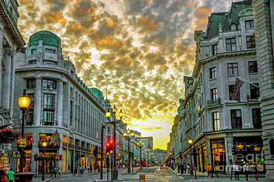 Albert Bierstadt - Downtown London 5 by Micah May