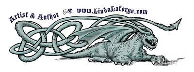 Digital Art - Dragon by Linda Laforge