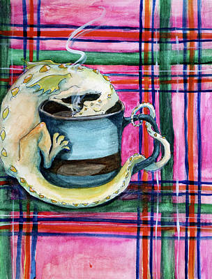 Painting - Dragon Tea by Heather Young