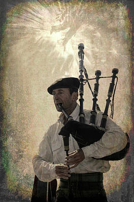 Photograph - Dragons and Bagpipes by Jim Cook