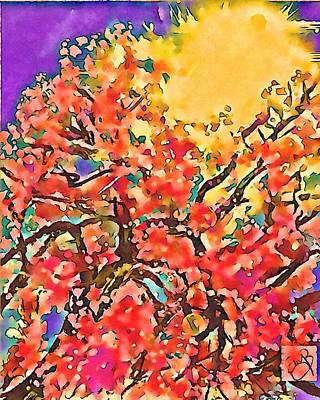 Moody Trees - Dreaming of Spring 4 by Eileen Backman