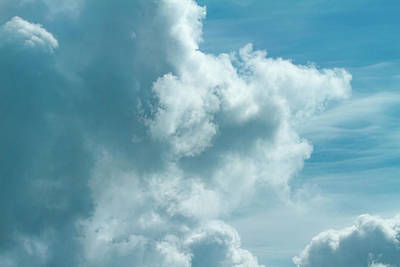 Beach House Signs - Dreamy Clouds 2  by Bonnie Follett