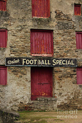 Sports Royalty-Free and Rights-Managed Images - Drink Football Special by Eddie Barron