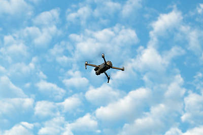 Royalty-Free and Rights-Managed Images - Drone Flight by Steve Gadomski