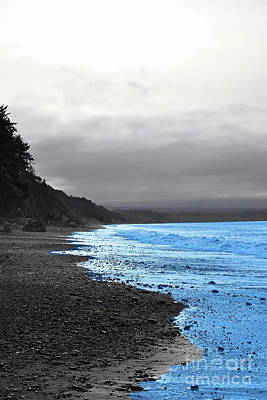 Photograph - Duality Of The Sea by Sherry Little Fawn Schuessler