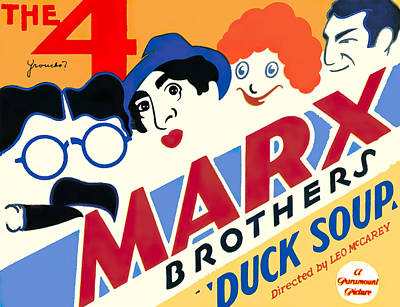 Royalty-Free and Rights-Managed Images - Duck Soup, 1933 by Stars on Art