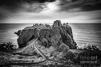 Angels And Cherubs - Dunottar Castle, Scotland by Colin and Linda McKie