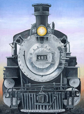 Painting - Durango Train by Jerry McElroy