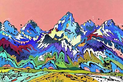 Painting - Dusk by Nicole Gaitan