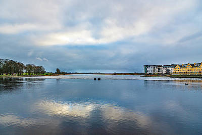 Bath Time Rights Managed Images - Dusk on the River shannon Royalty-Free Image by Sean O