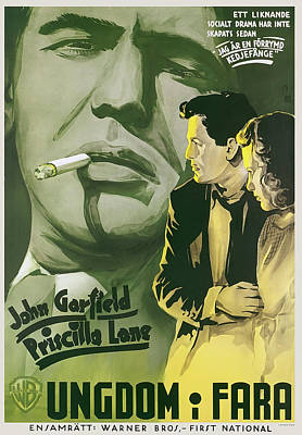 Royalty-Free and Rights-Managed Images - Dust Be My Destiny, with John Garfield, 1939 by Stars on Art