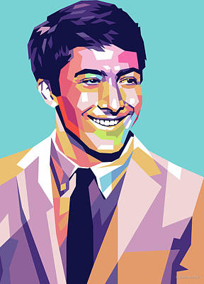 Royalty-Free and Rights-Managed Images - Dustin Hoffman 2 by Stars on Art