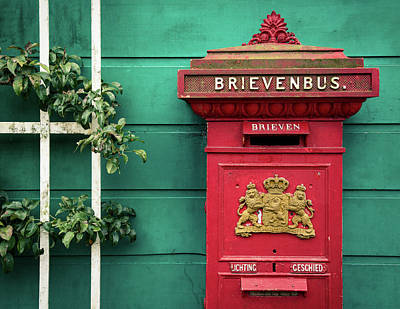 Royalty-Free and Rights-Managed Images - Dutch Postbox by Dave Bowman