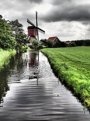 Grateful Dead - Dutch Windmill No 1 by David Smith