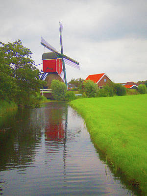 Grateful Dead - Dutch Windmill No 4 by David Smith