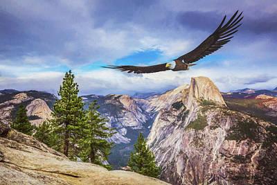 Impressionist Landscapes - Eagle at Glacier Point by Ian Good