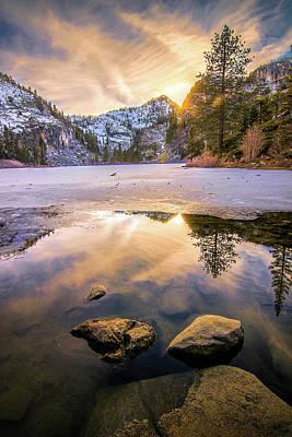Louis Armstrong - Eagle Lake Sunset by Steve Baranek