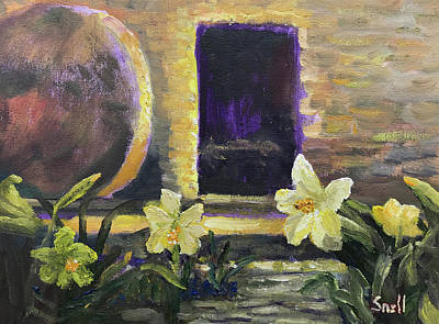 Painting - Easter Morn by Roger Snell